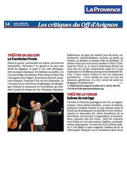 La Provence 11.07.16