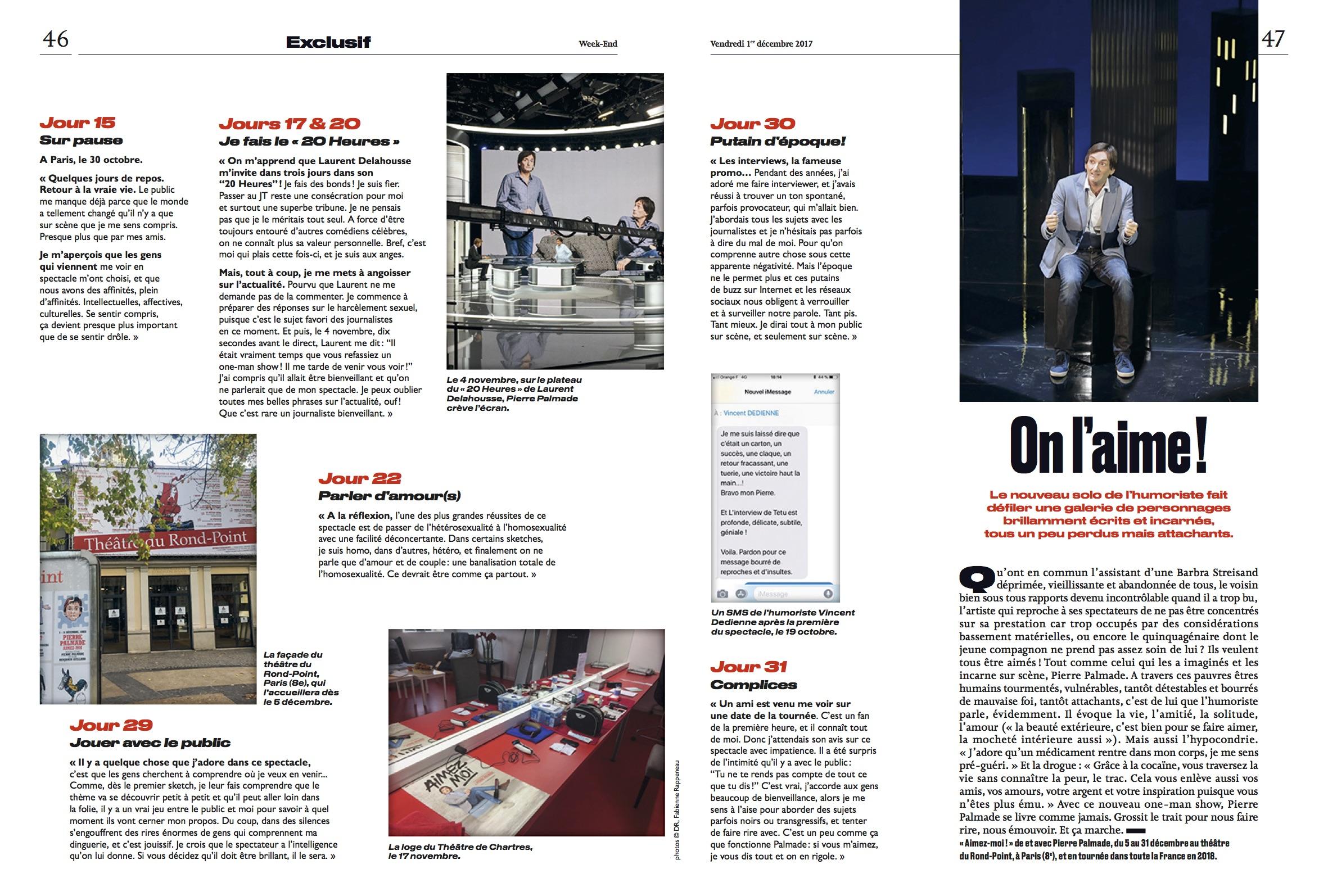 Le Parisien Magazine 01.12.17 p5-6