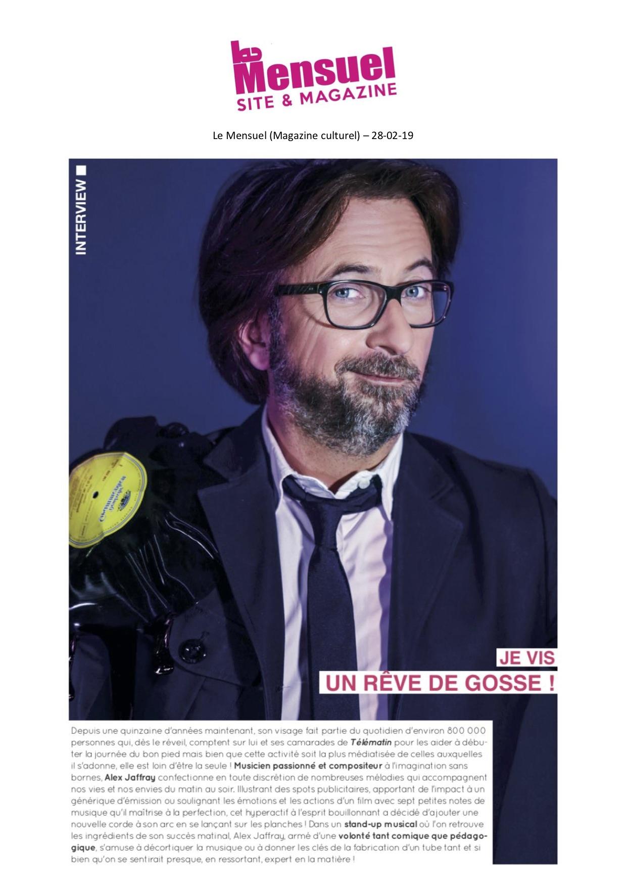 Le Mensuel p1 - 28.02.19