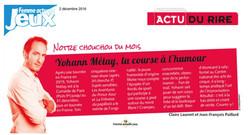 Femme Actuelle 02.12.16