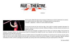 Rue du théâtre blog 16.07.19