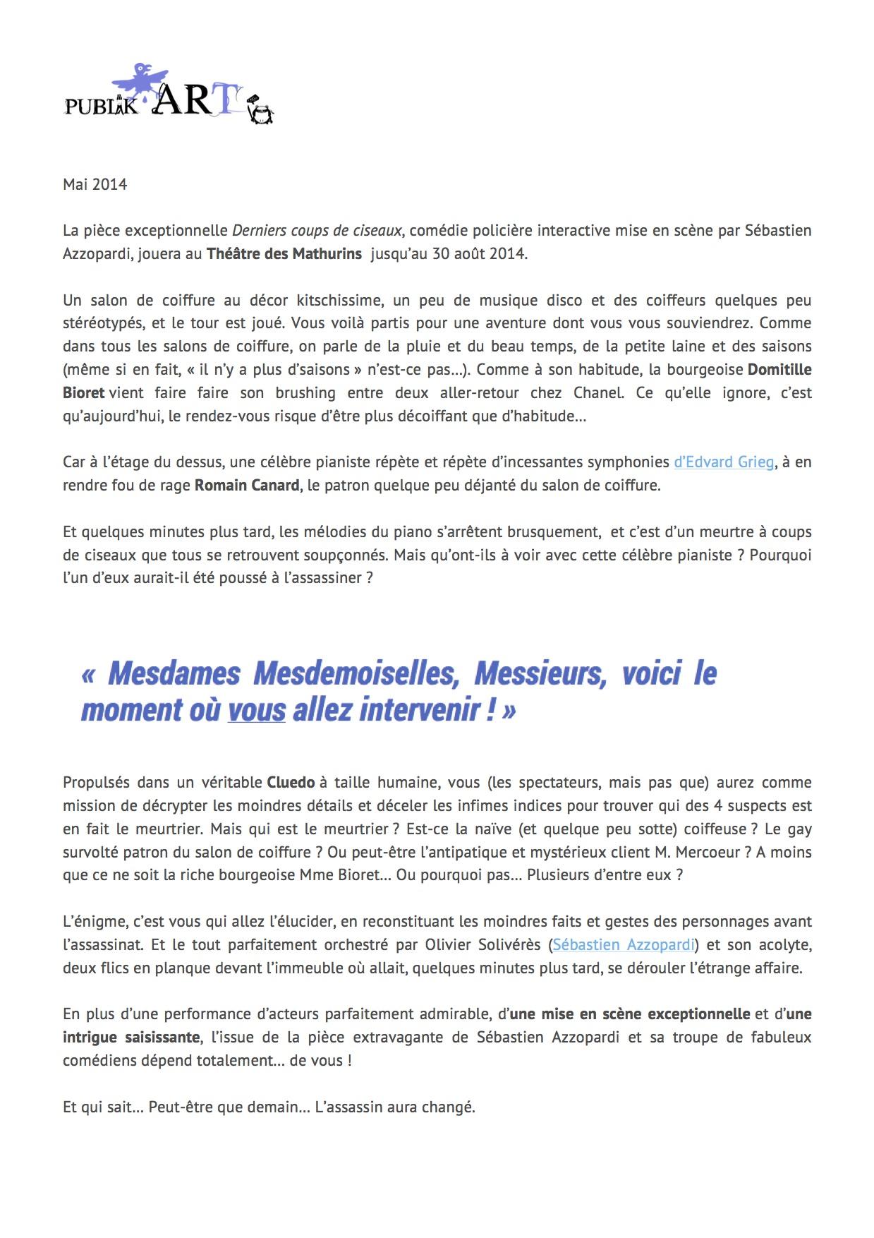 Publikart.fr mai 2014