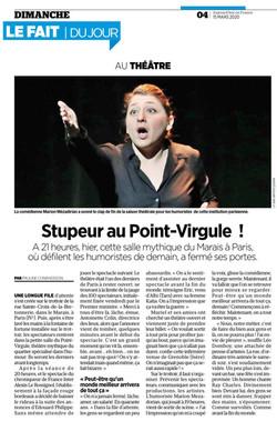 Le Parisien 15.03.20