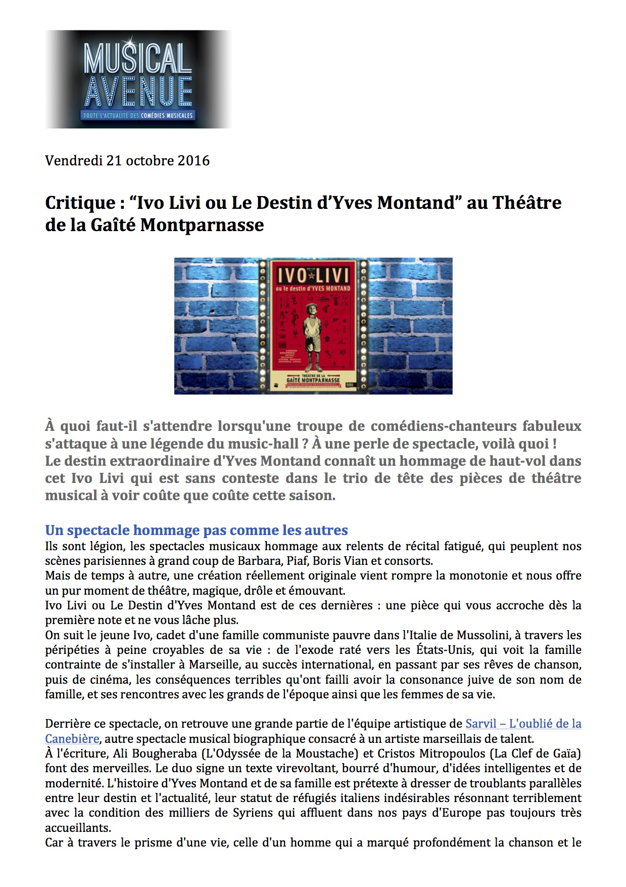 Musicalavenue.fr p1 - 21.10.16
