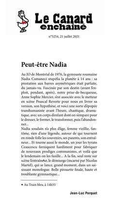 LE CANARD ENCHAINÉ - 21.07.21