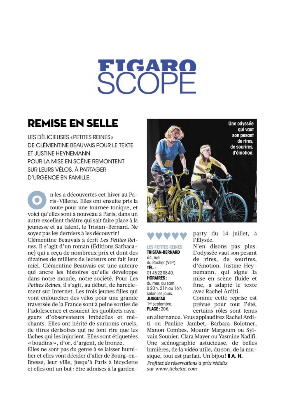 Figaroscope 30.05.18