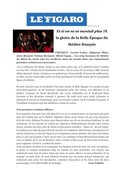 Le FIGARO.fr 09.09.18