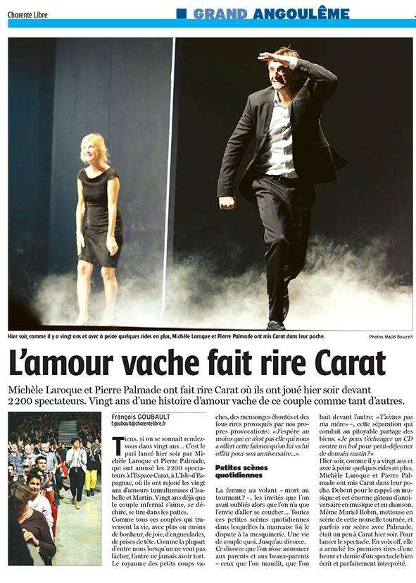 La Charente Libre 20 octobre