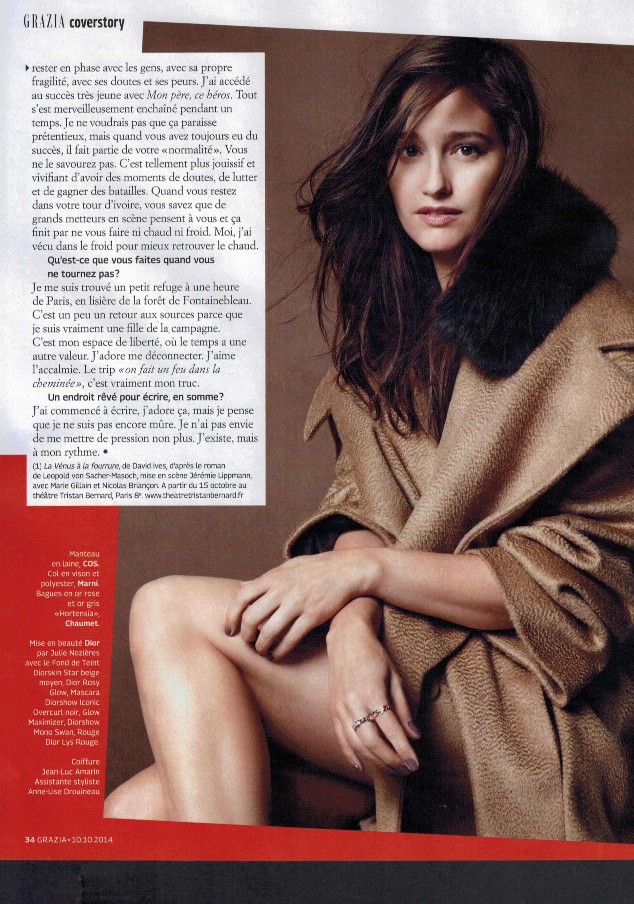 GRAZIA magazine p5 - 10.10.14