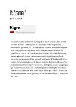 Télérama.fr 16.06.16