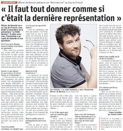 Le Dauphiné Libéré 09.12.19
