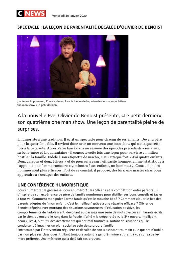 CNews 30.01.20