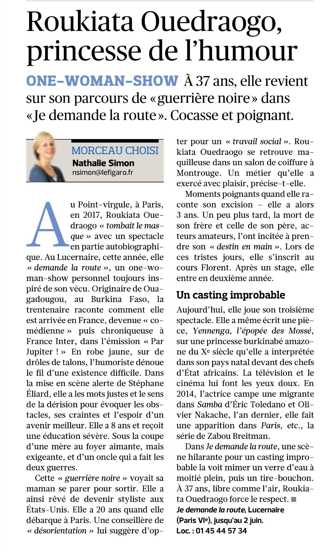 Le Figaro 16.03.18
