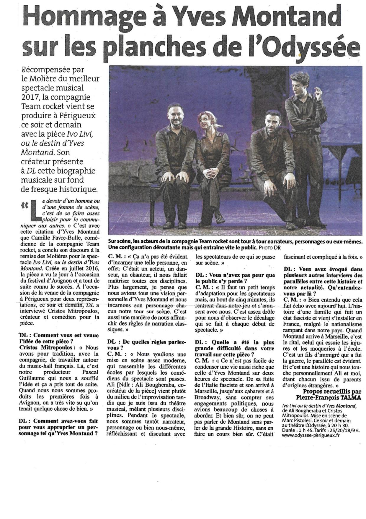 La Dordogne Libre 18.12.17