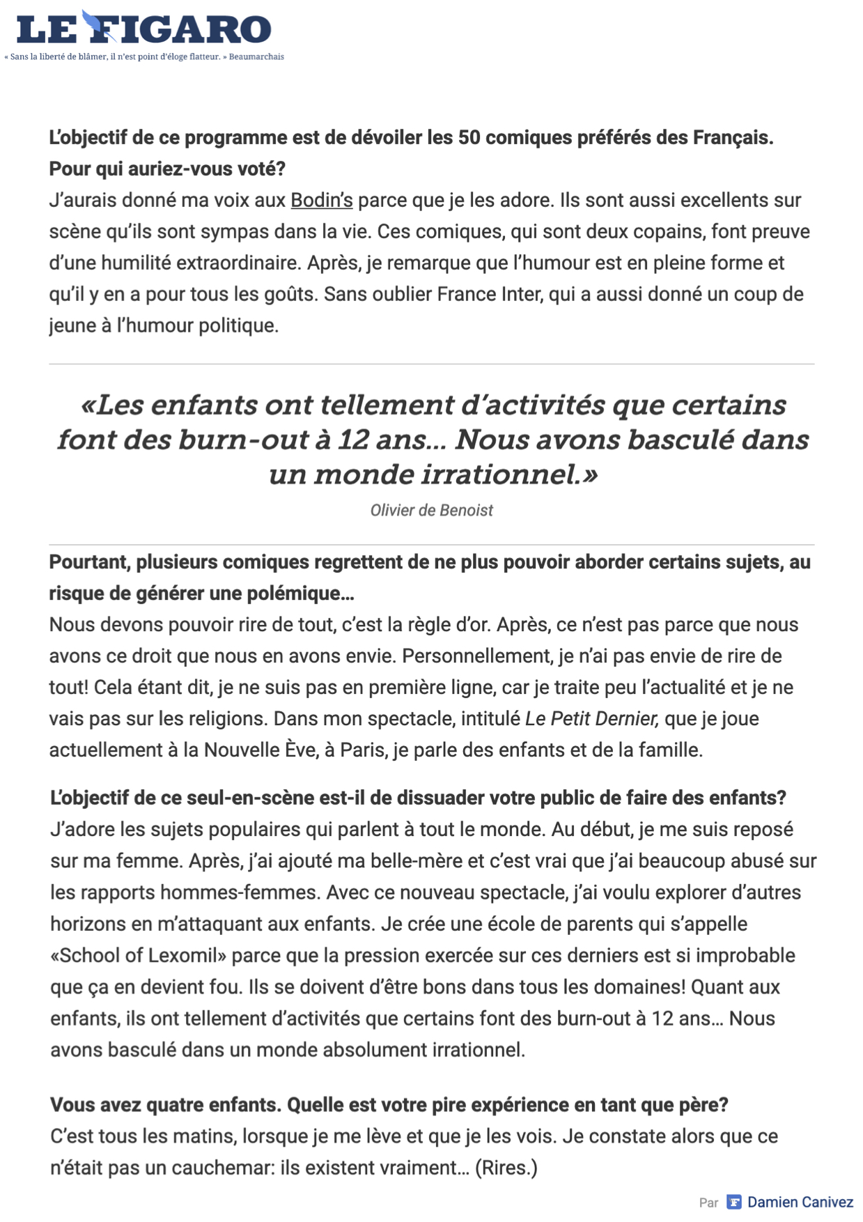 Le Figaro 22.02.20 - Page 2