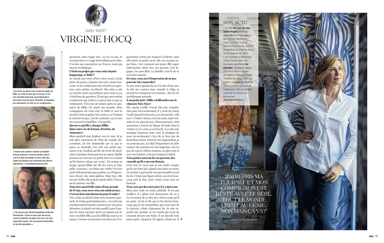 Gaël mag belge mars 20 p3-4