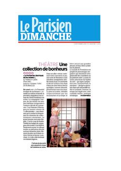 Le PARISIEN DIMANCHE 09.09.18