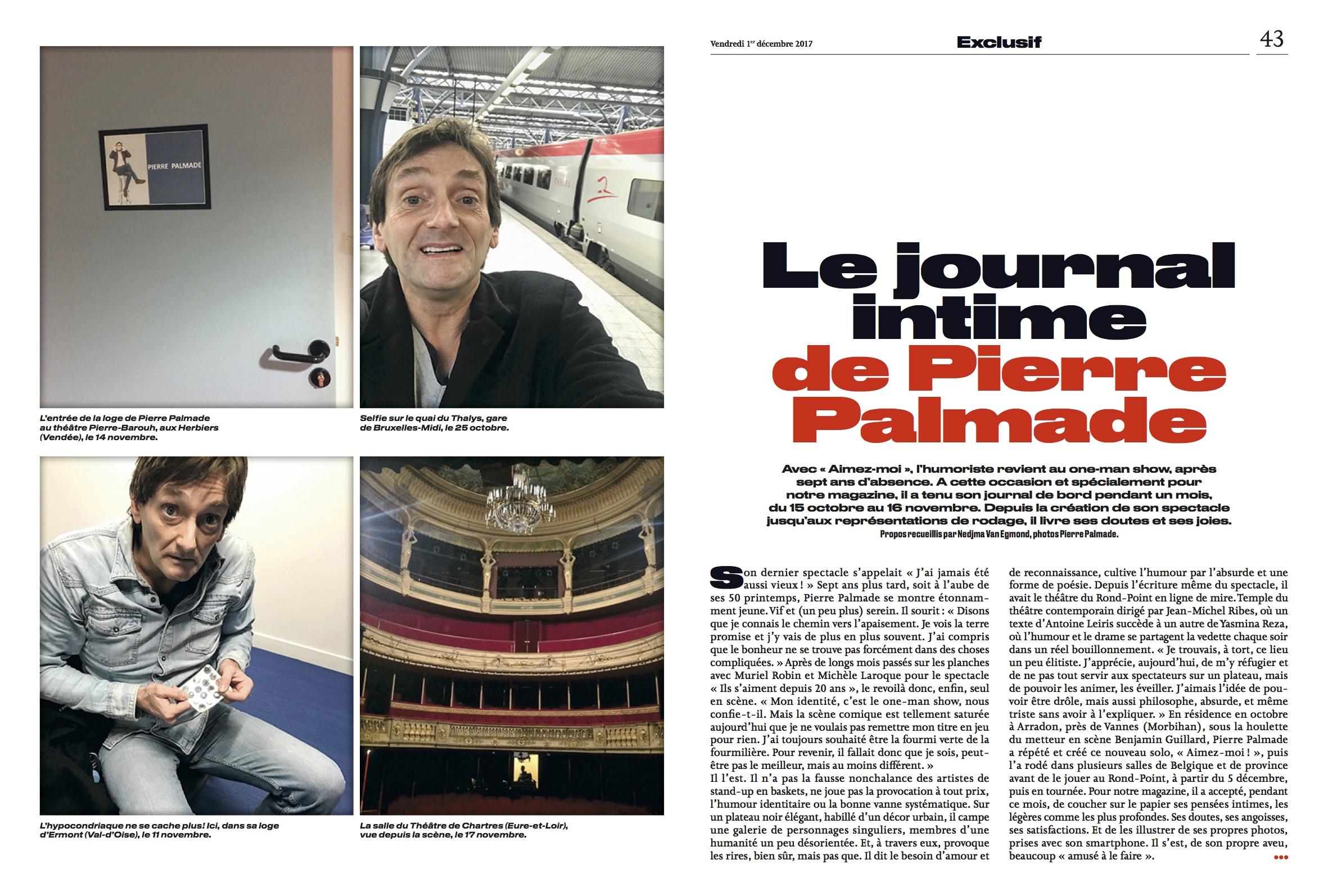 Le Parisien Magazine 01.12.17 p1-2