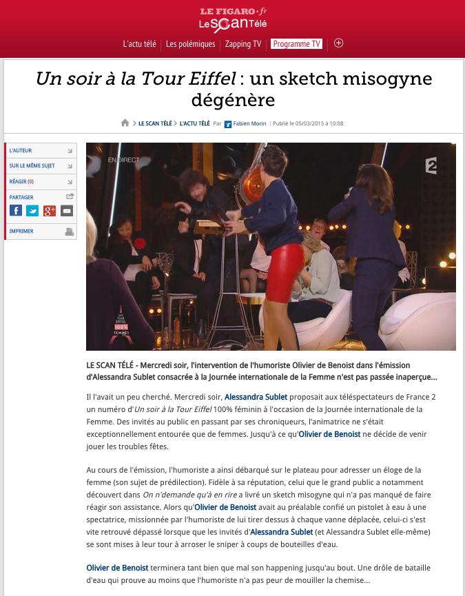 Le Figaro 05.03.2015