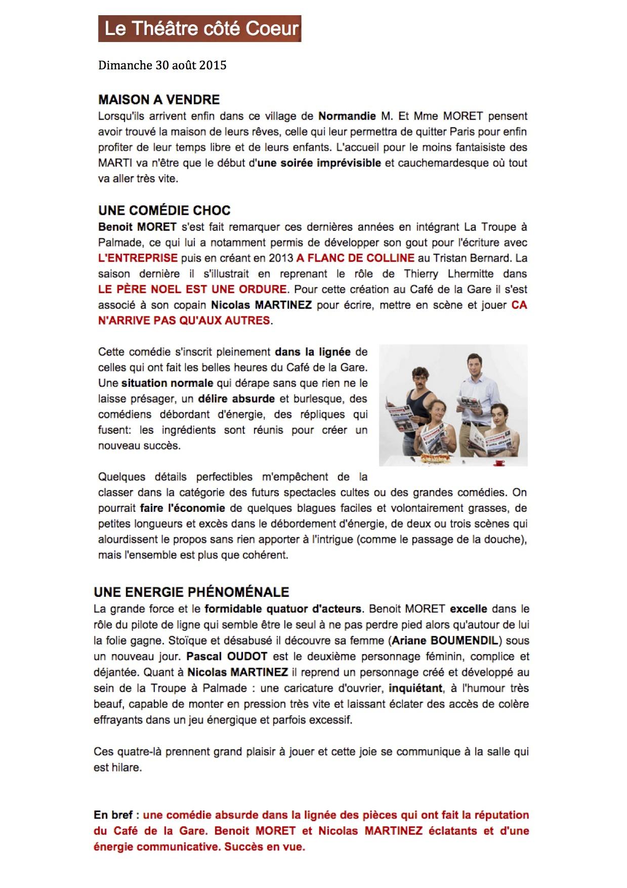 Théâtrecôtécoeur.fr 30.08.15