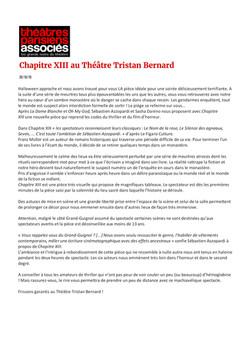 Theatres Parisiens associés 26.10.18