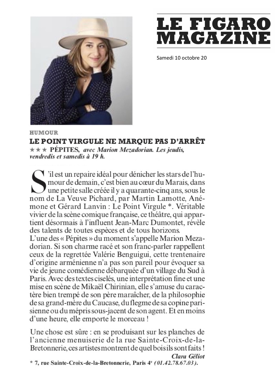 Le Figaro Magazine 10.10.20
