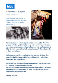 France Bleu Vaucluse 20.07.19