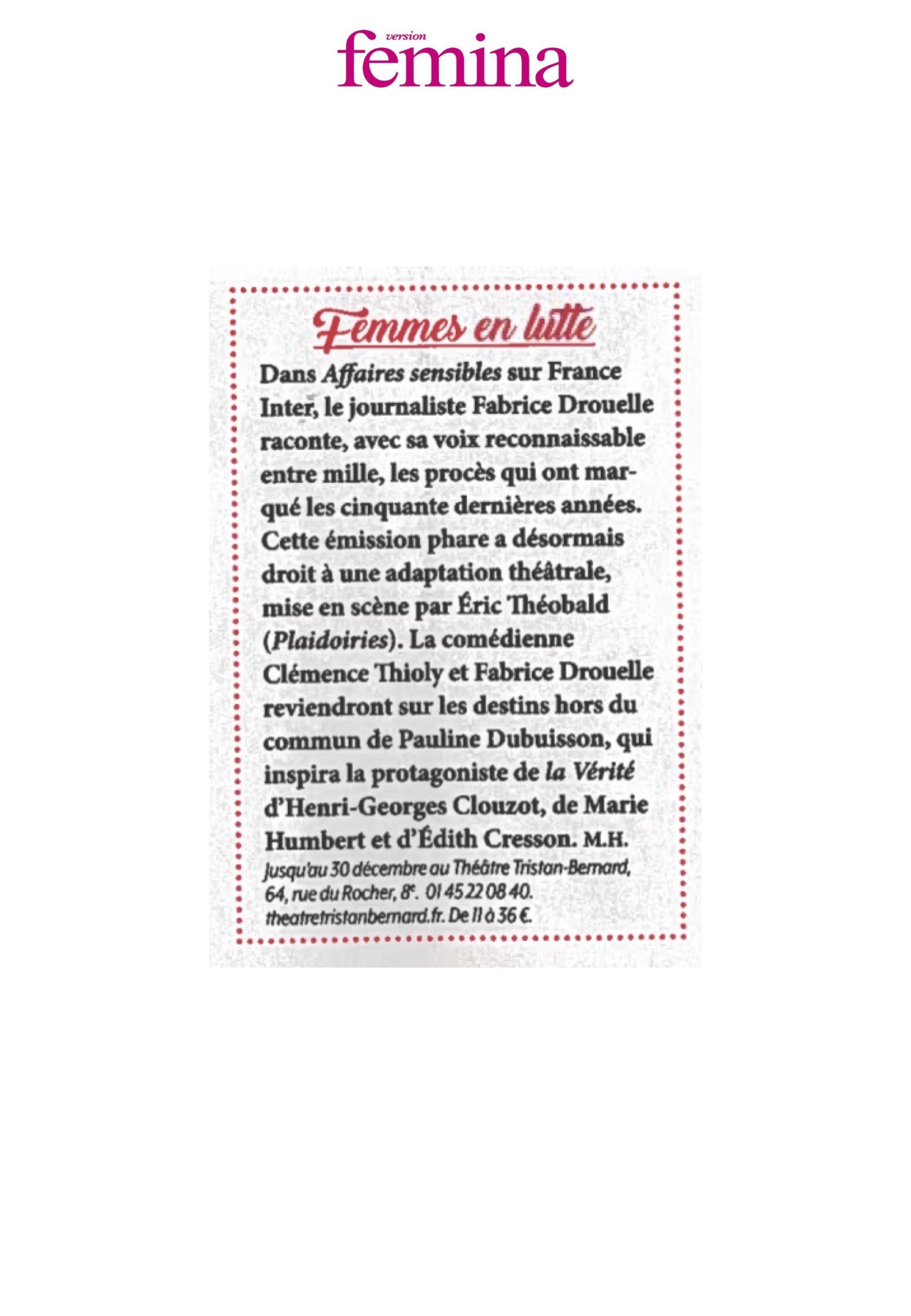 VERSION FEMINA 19.09.20