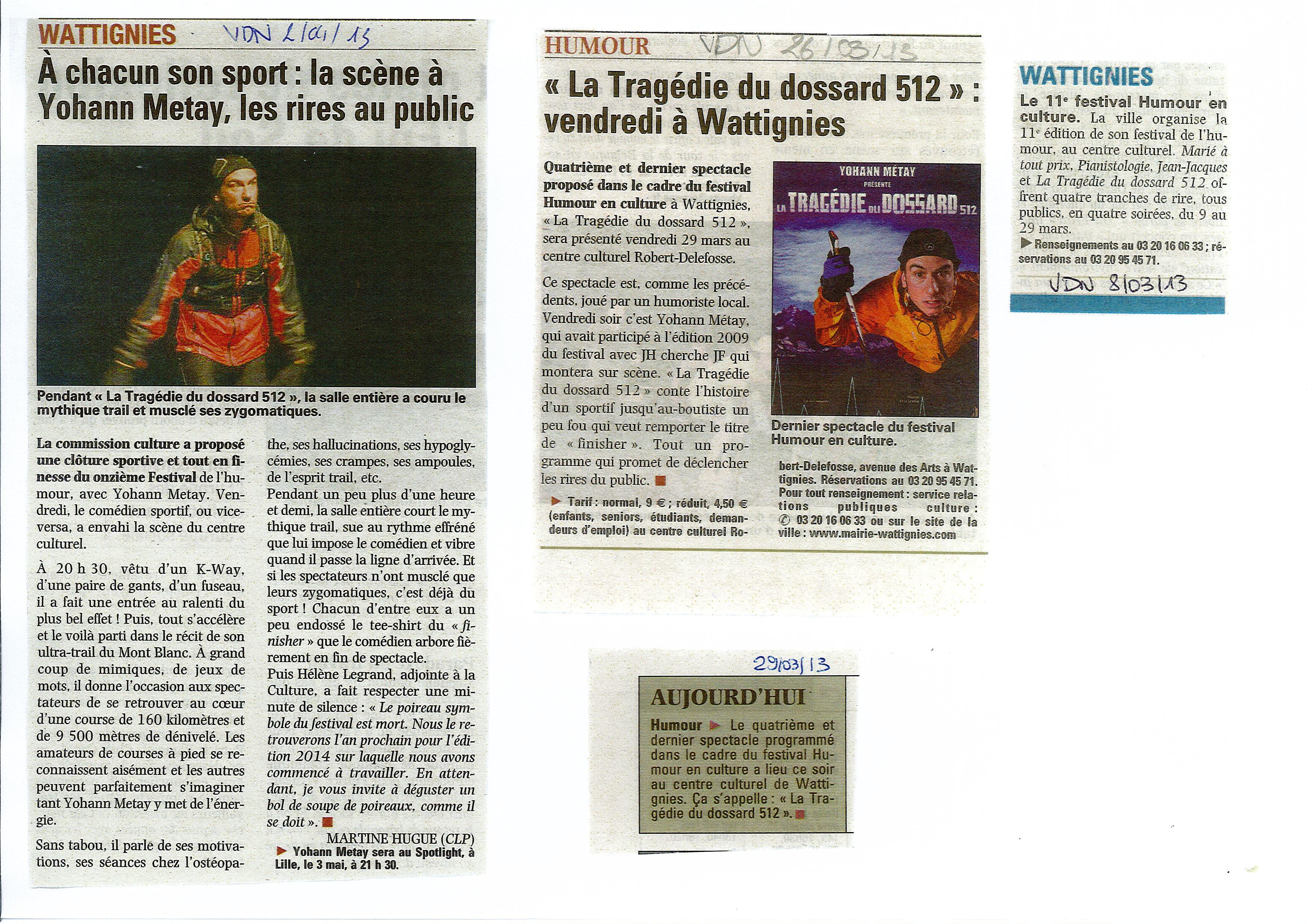 Presse VDN mars 2013