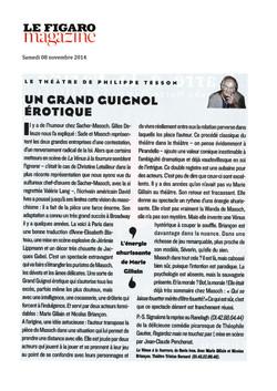 Le Figaro Magazine 08.11.14