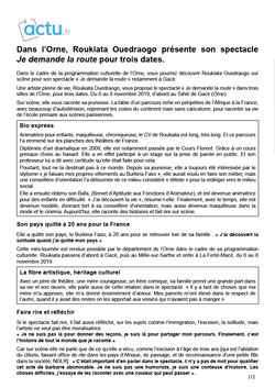 Actu.fr 24.10.19 page1