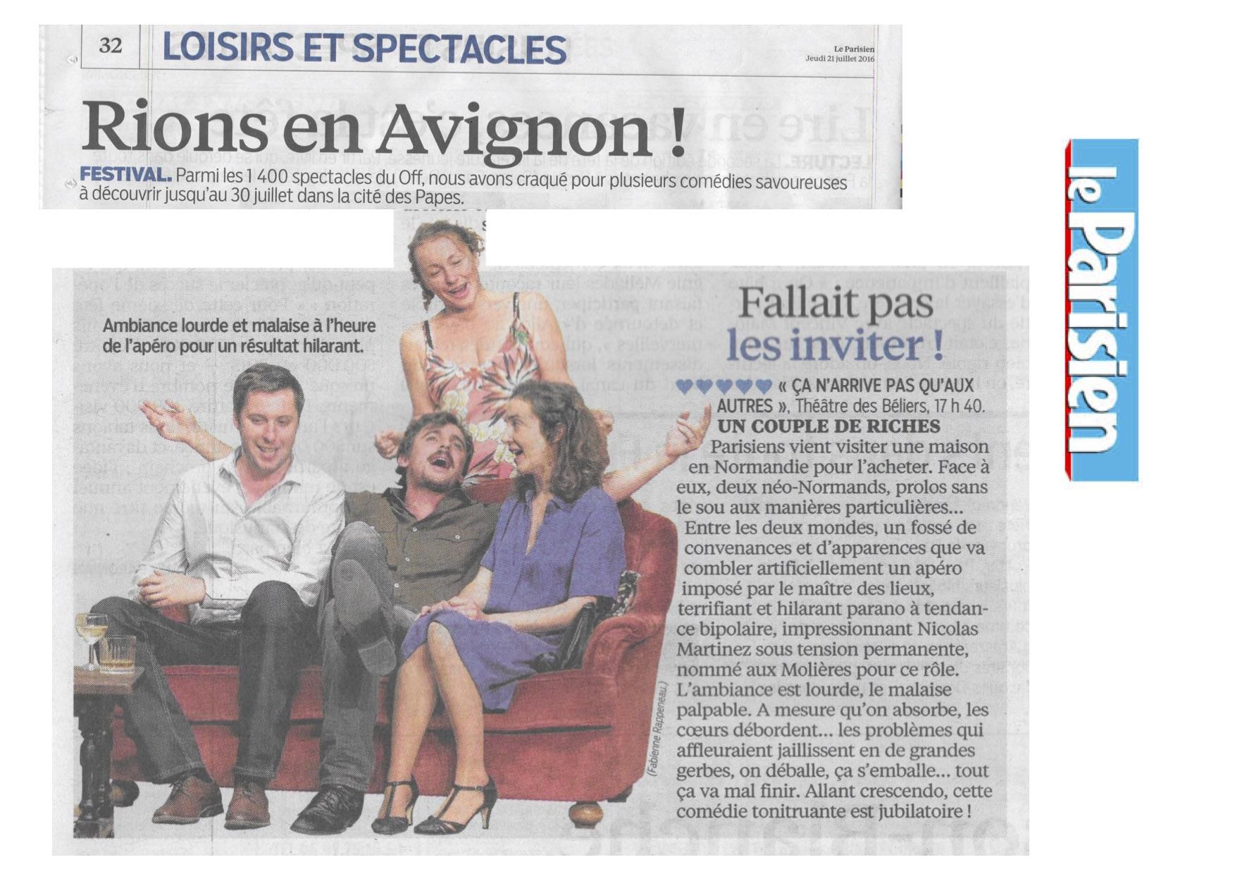 Le Parisien 21.07.16