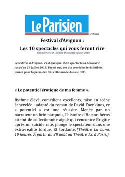 Le Parisien 14.07.18