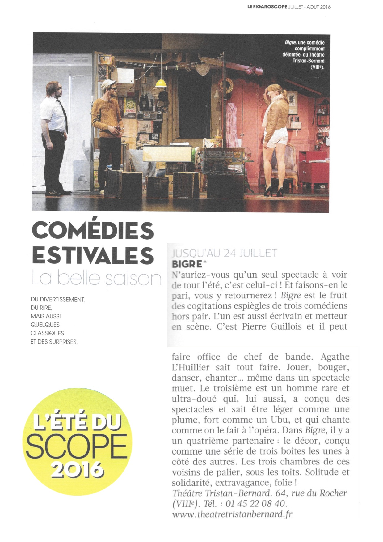 Figaroscope ETÉ 29.06.16