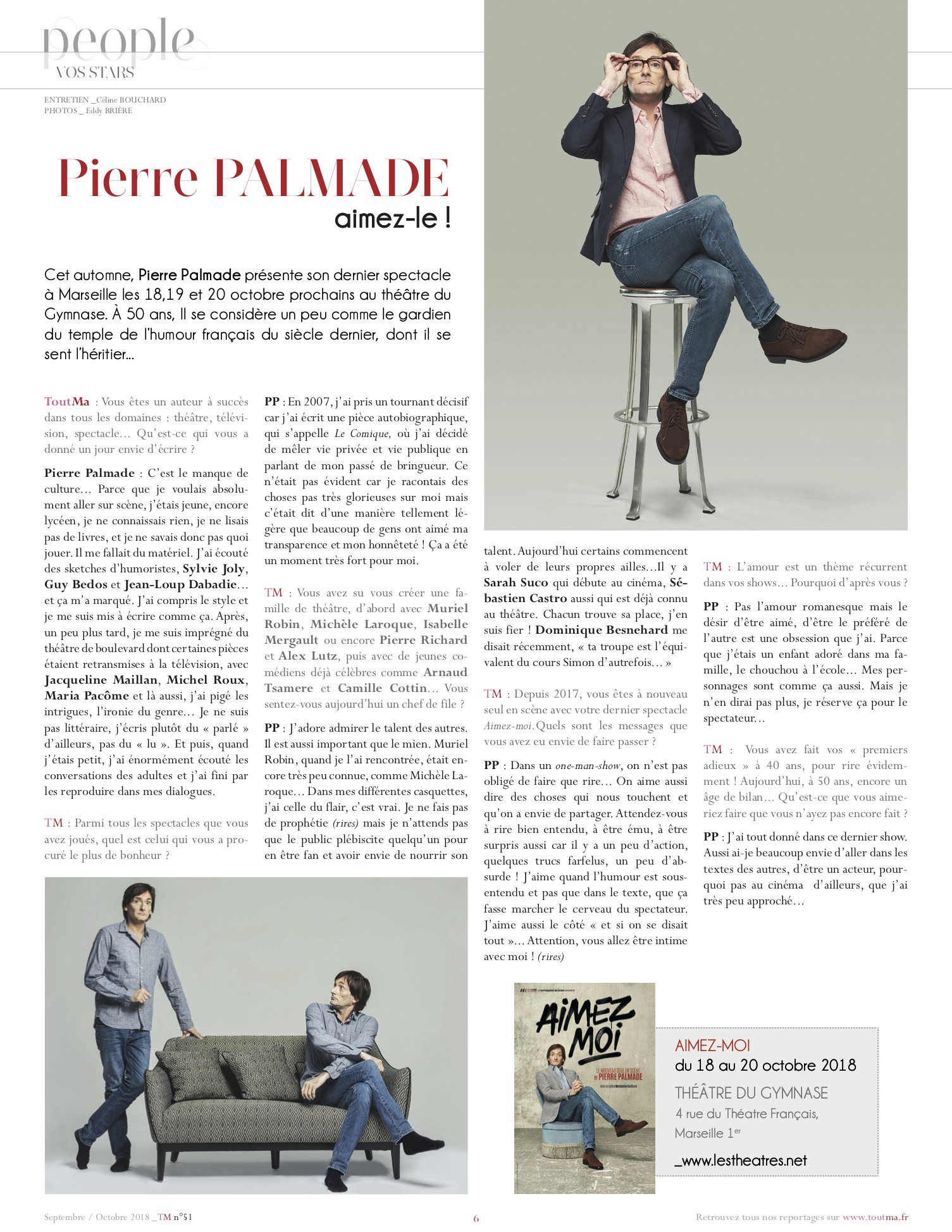 ToutMa magazine n°50 sept 18