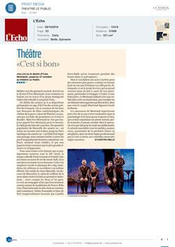 L'Echo Belgique 06.10.18