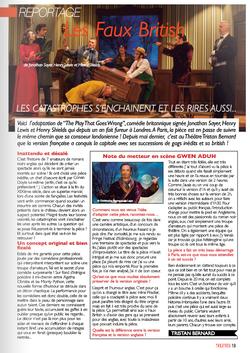 Théâtres & Spectacles de Paris