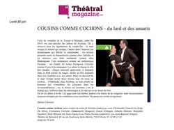 Théâtral Magazine n°juillet-août