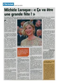 L'Est Eclair Troyes 02.06.16