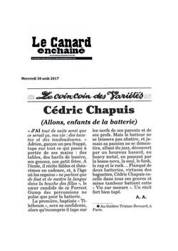 Canard Enchaîné 30.08.17