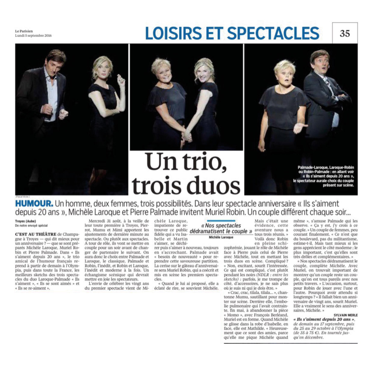 Le Parisien 5 sept