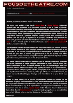 Fousdetheatre.com 01.09.15