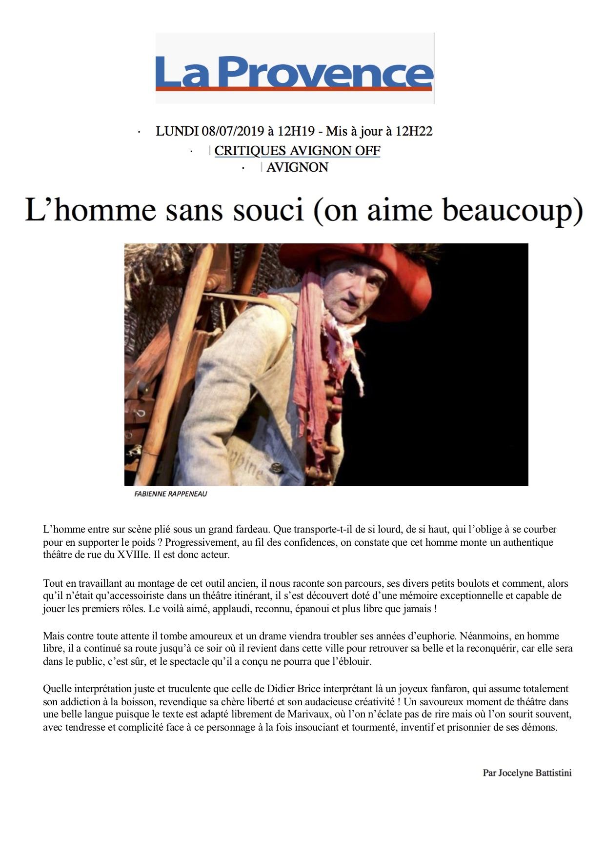La Provence 08.07.19