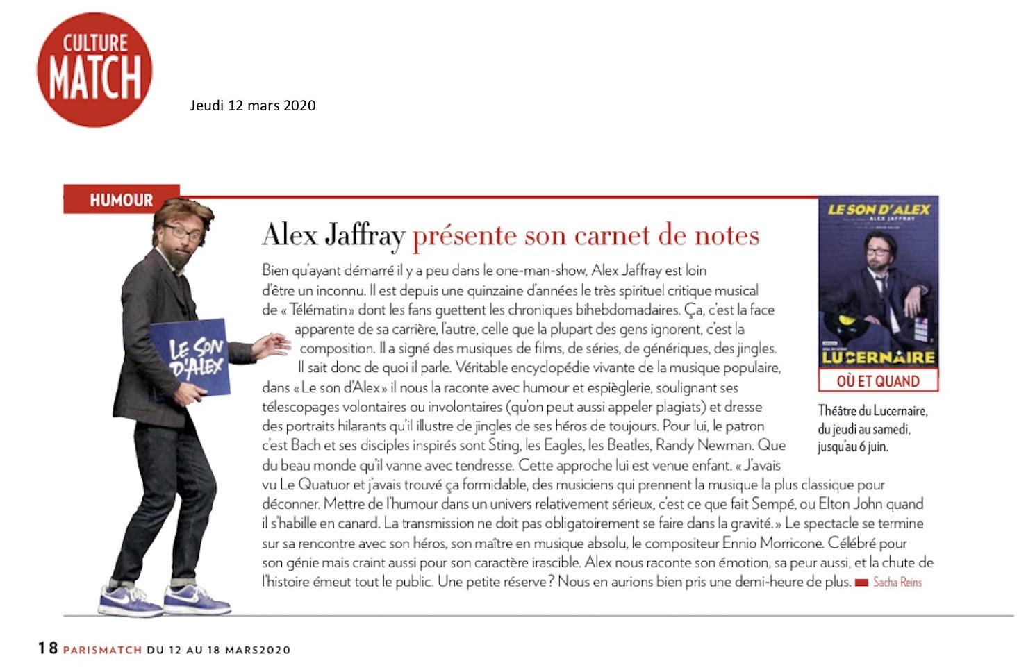 Paris Match 12.03.20