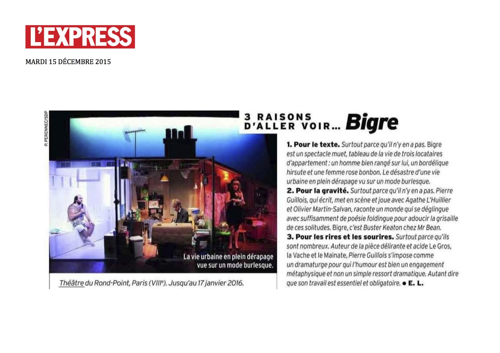 L'EXPRESS 15.12.15