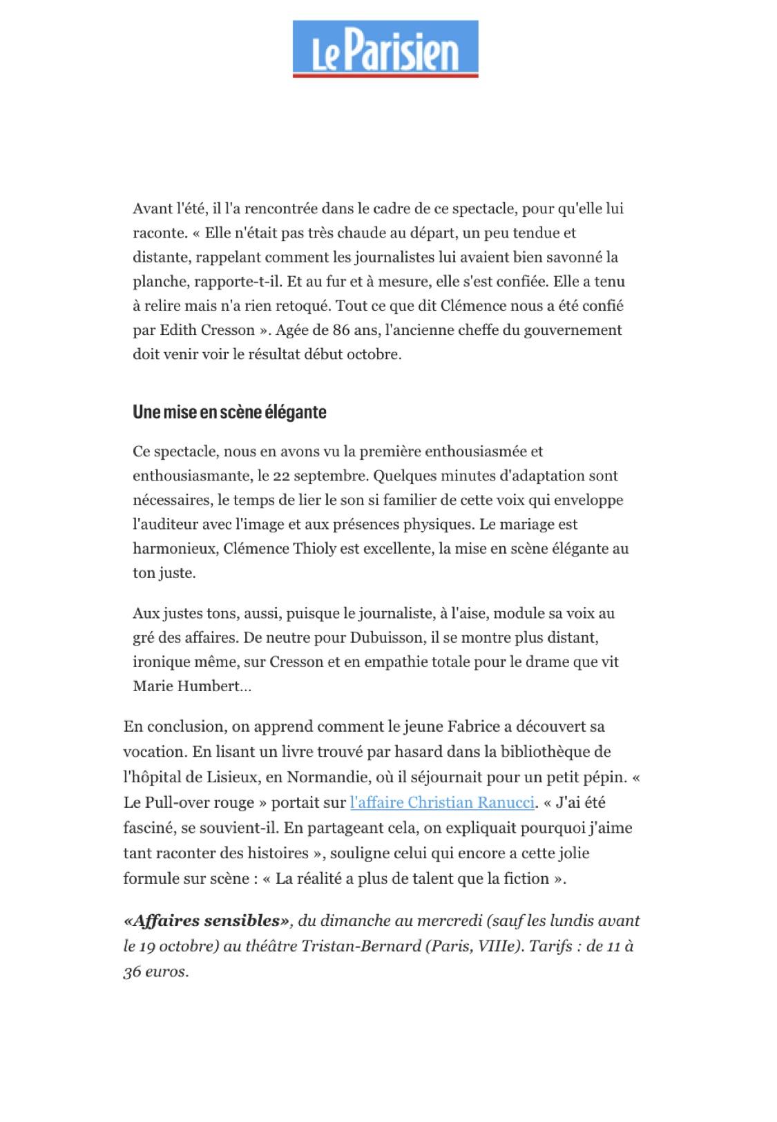 Le Parisien p3 29.09.20
