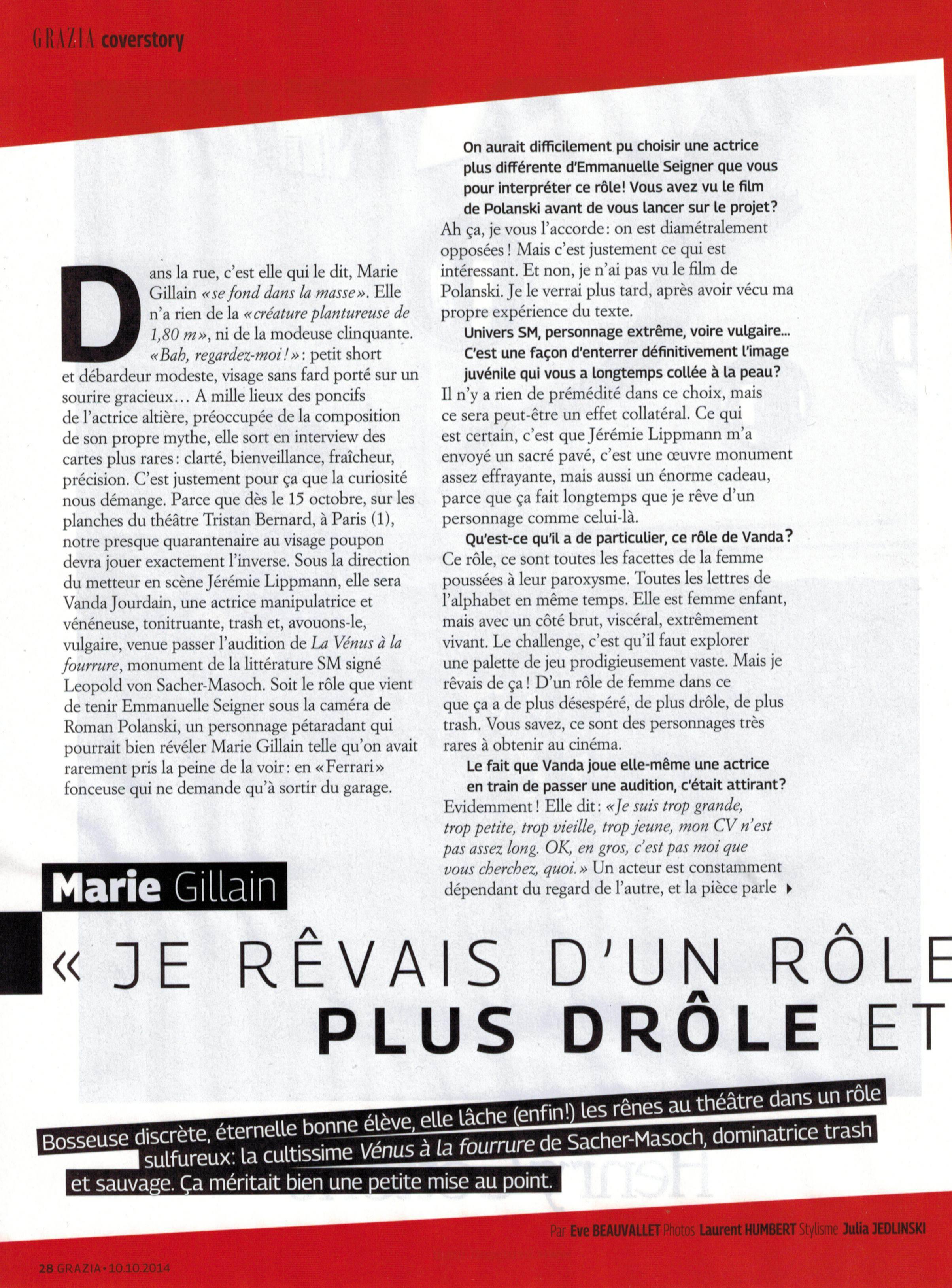GRAZIA magazine p1 - 10.10.14