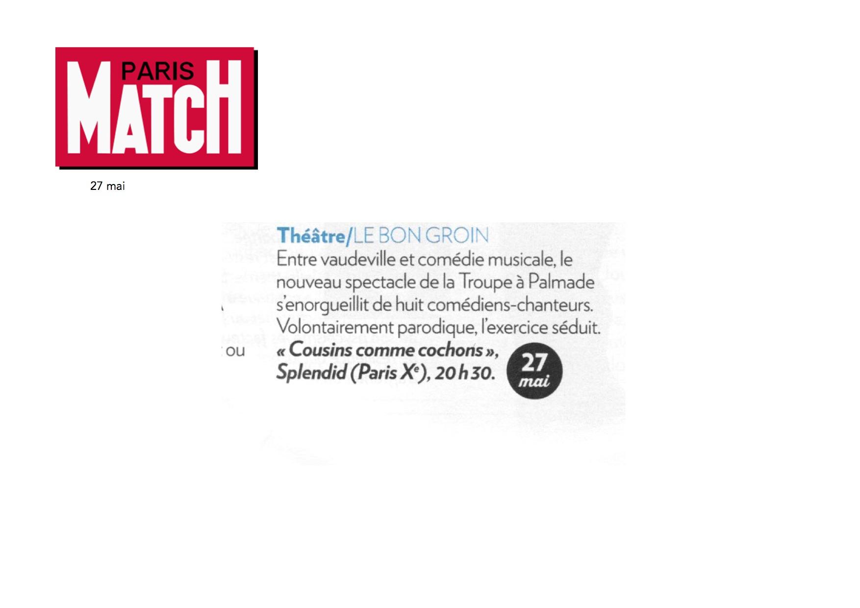 Paris Match 01.06.16