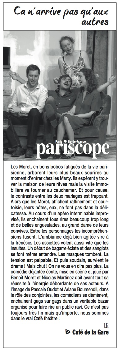Pariscope 23.09.15