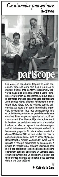 Pariscope 23.09.15